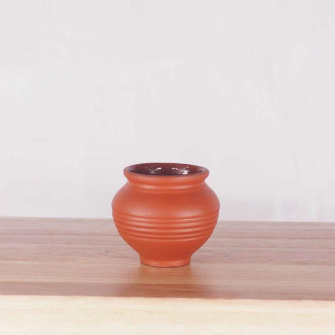 Terracotta Earthen Matki Pot 6.0 – SMALL – Set of 12 Pots