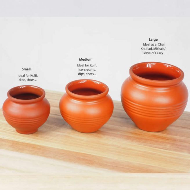 Terracotta Earthen Matki Pot 7.0 - MEDIUM