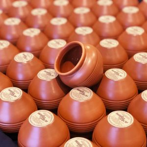 Dishwasher Safe, Microwave Safe, Oven Safe, Freezer Safe Terracotta Pots - Cultulral Indian Pots