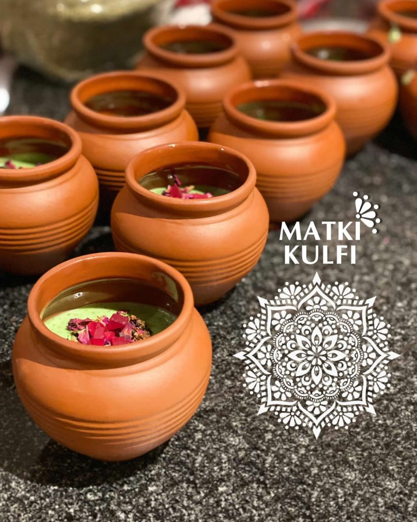 Matki Kulfi ~ Indian Icecream in a Terracotta Pot